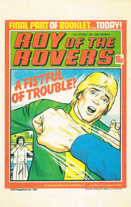 RR 60 - Comic Cover from 17th October 1981