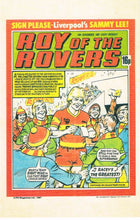 RR 61 - Comic Cover from 14th November 1981