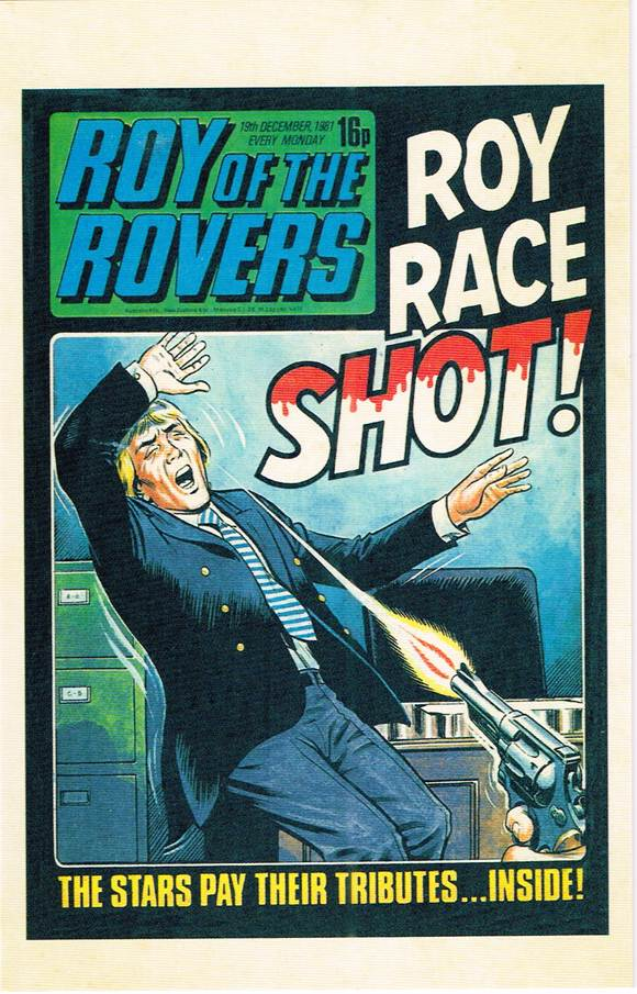 RR 64 - Comic Cover from 19th December 1981