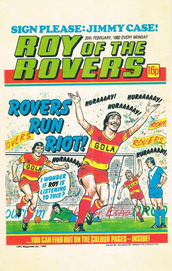 RR 67 - Comic Cover from 20th February 1982