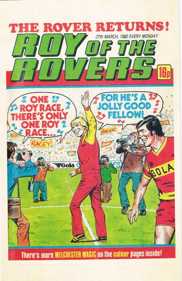 RR 70 - Comic Cover from 27th March 1982