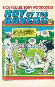 RR 74 - Comic Cover from 10th July 1982