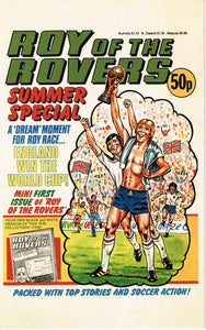 RR 75 - Summer Special Comic Cover from 1982