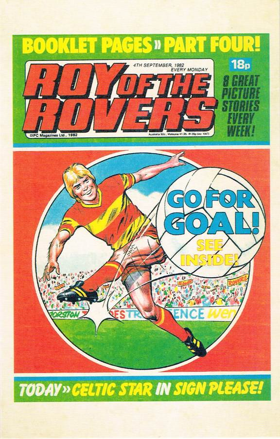 RR 76 - Comic Cover from 4th September 1982