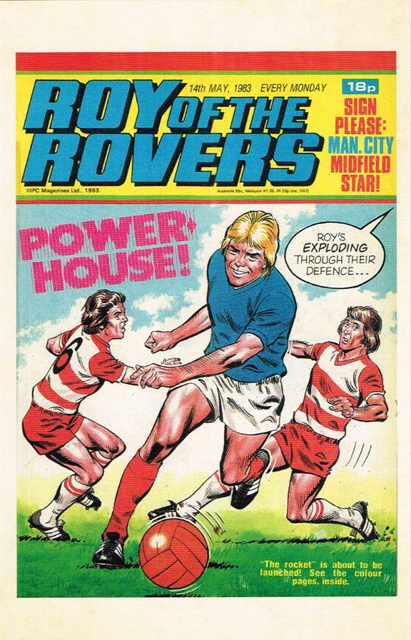 RR 80 - Comic Cover from 14th May 1983