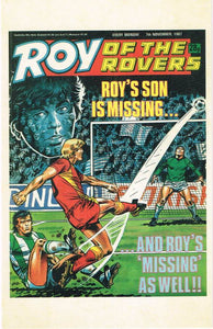 RR 92 - Comic Cover from 7th November 1987