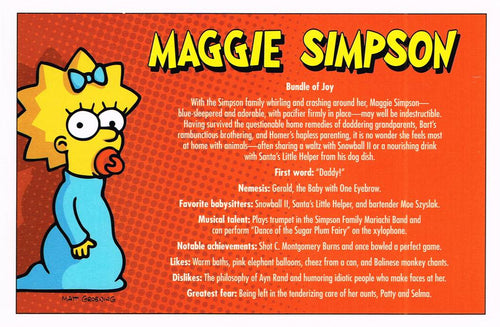 SS 02 - Maggie Simpson