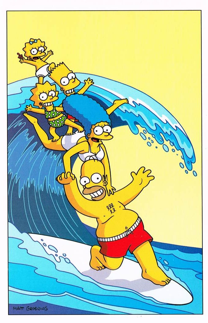 SS 30 - Simpsons Surfing