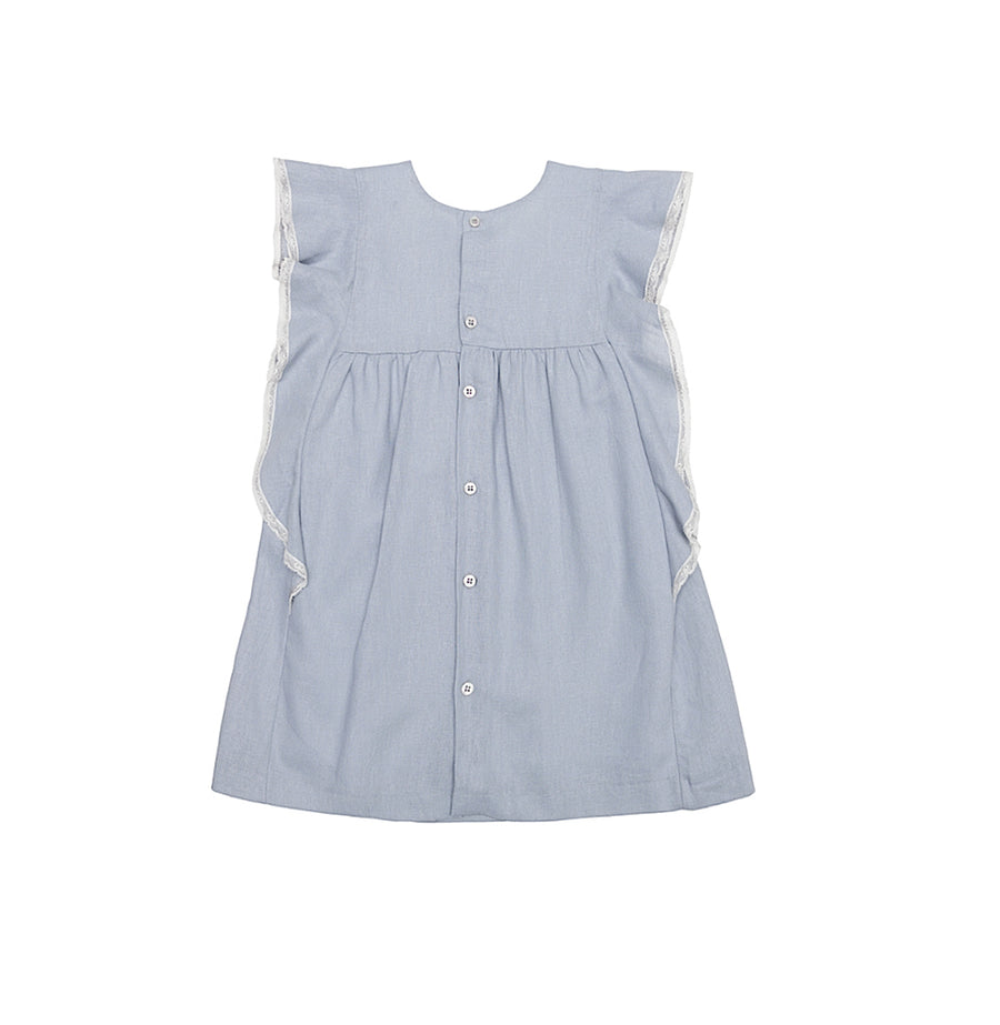 Adela linen dress - orkids boutique