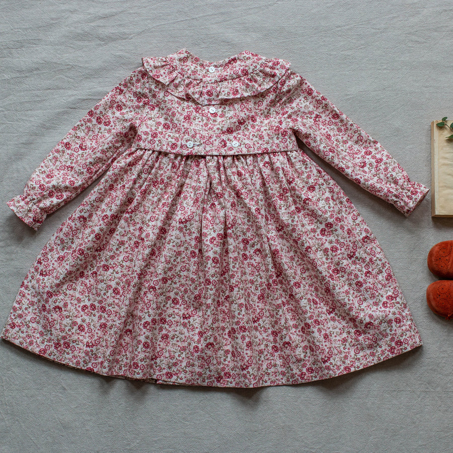 Albita smock Girl dress - orkids boutique