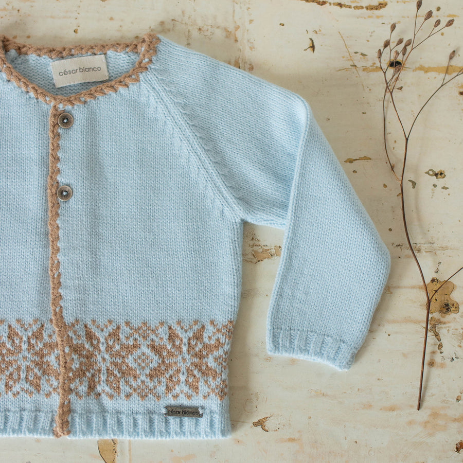Sancho Baby Cardigan - orkids boutique