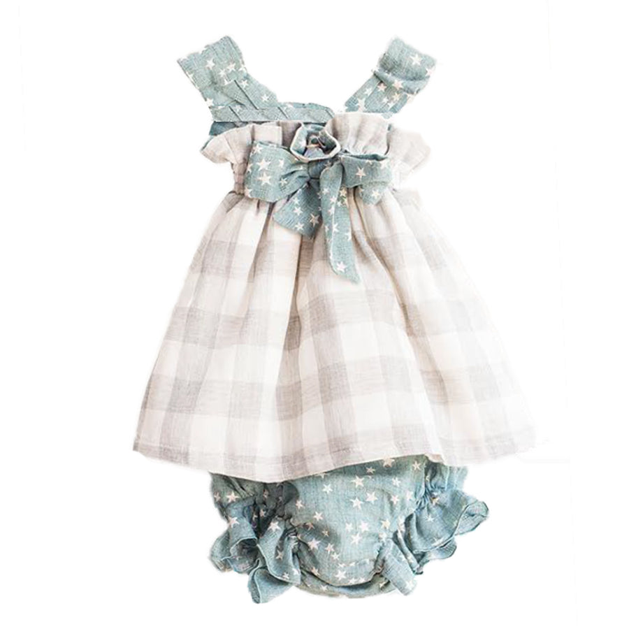 Twin checkered set - orkids boutique