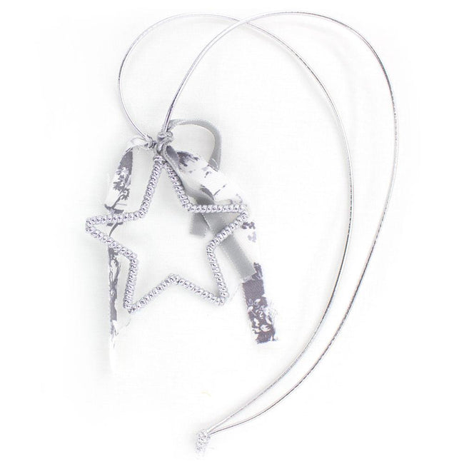 Silver Star necklace - orkids boutique