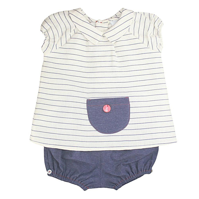 Baby Boy Linen Shirt & Short Set - orkids boutique