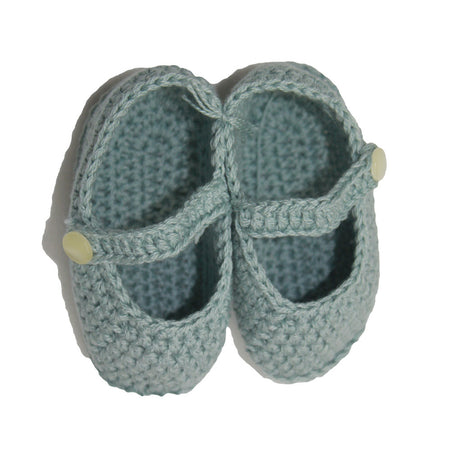 Baby Green Pram Shoes - orkids boutique