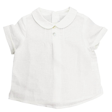 Baby Peter Pan Collar Shirt - orkids boutique