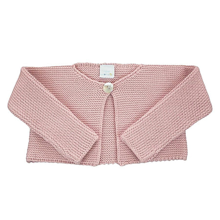 Baby Girls Pink Cardigan - orkids boutique