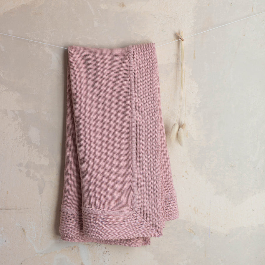 Pink baby blanket - orkids boutique