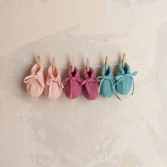Esmeralda Baby Booties - orkids boutique