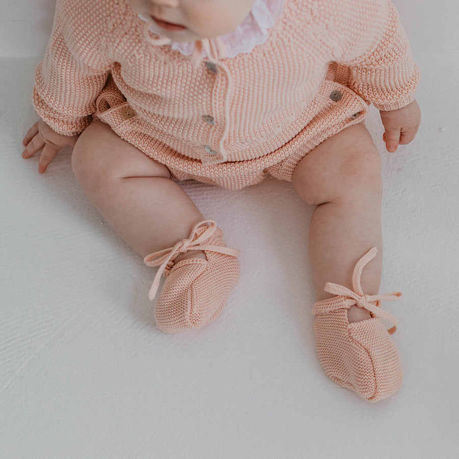 Irina Baby booties - orkids boutique