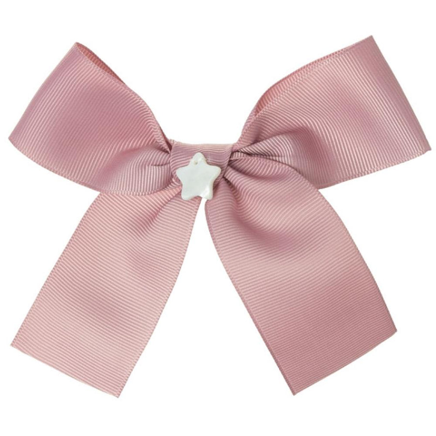 Girls bow hair bubble pink - orkids boutique