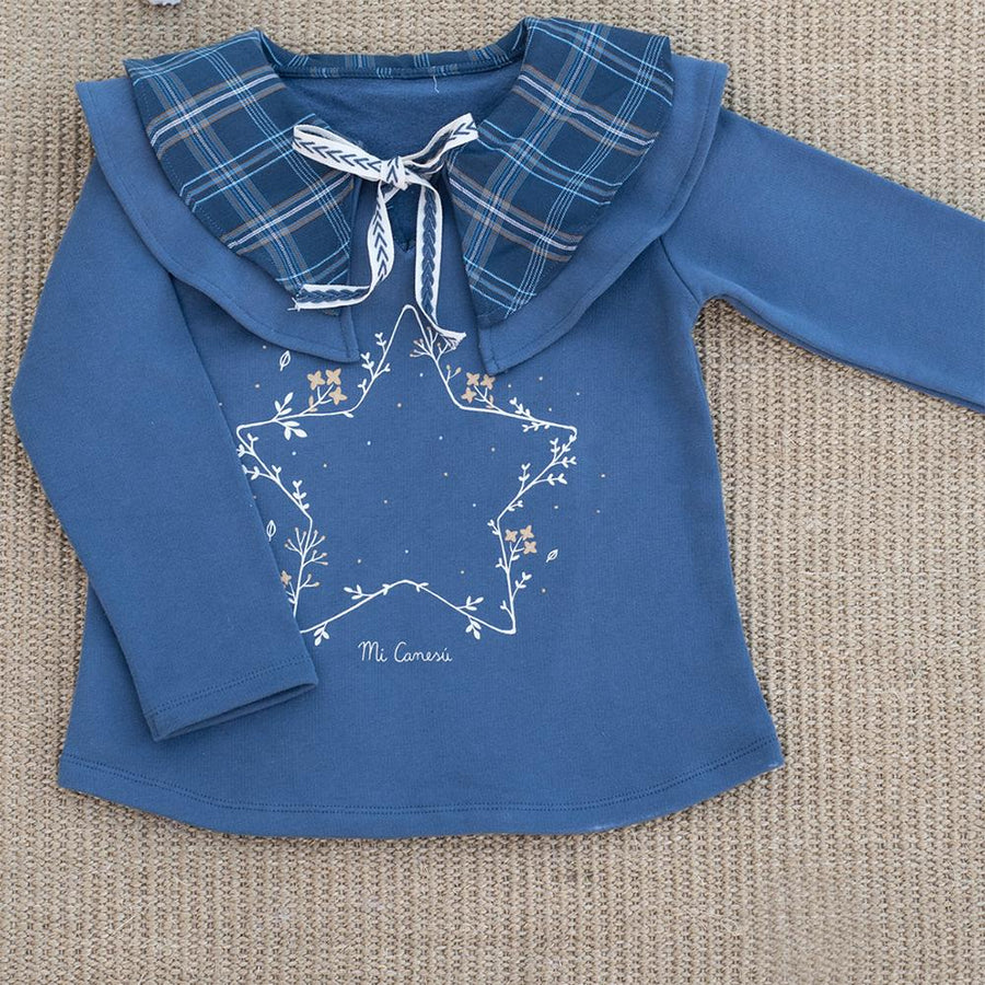 Girl Jogging Blue Sweatshirt - orkids boutique