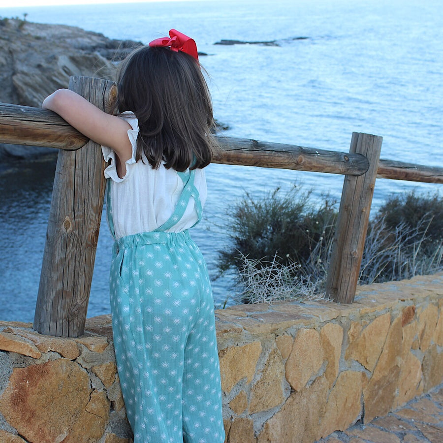 Girl Summer trousers - orkids boutique