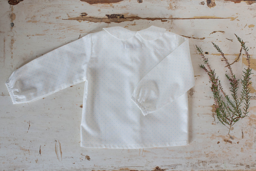 Blue Star Baby blouse - orkids boutique