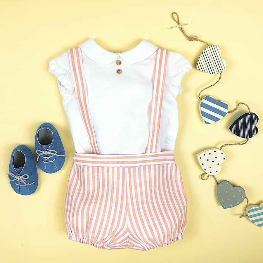 Linen Shorts with Straps - orkids boutique