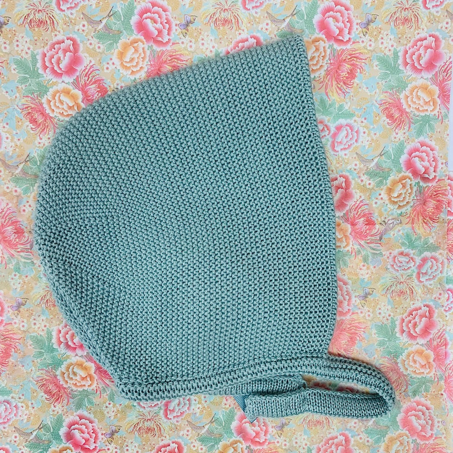 Baby Girl Green Bonnet - orkids boutique