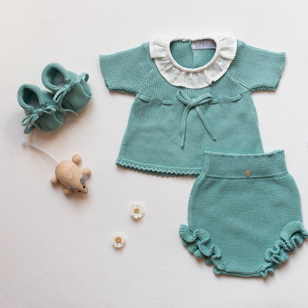Esmeralda Baby knitted Jumper - orkids boutique