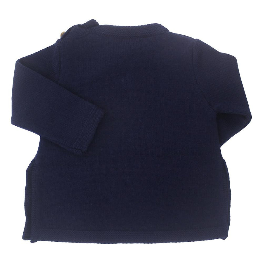 Boy Car blue Knitted Jumper - orkids boutique