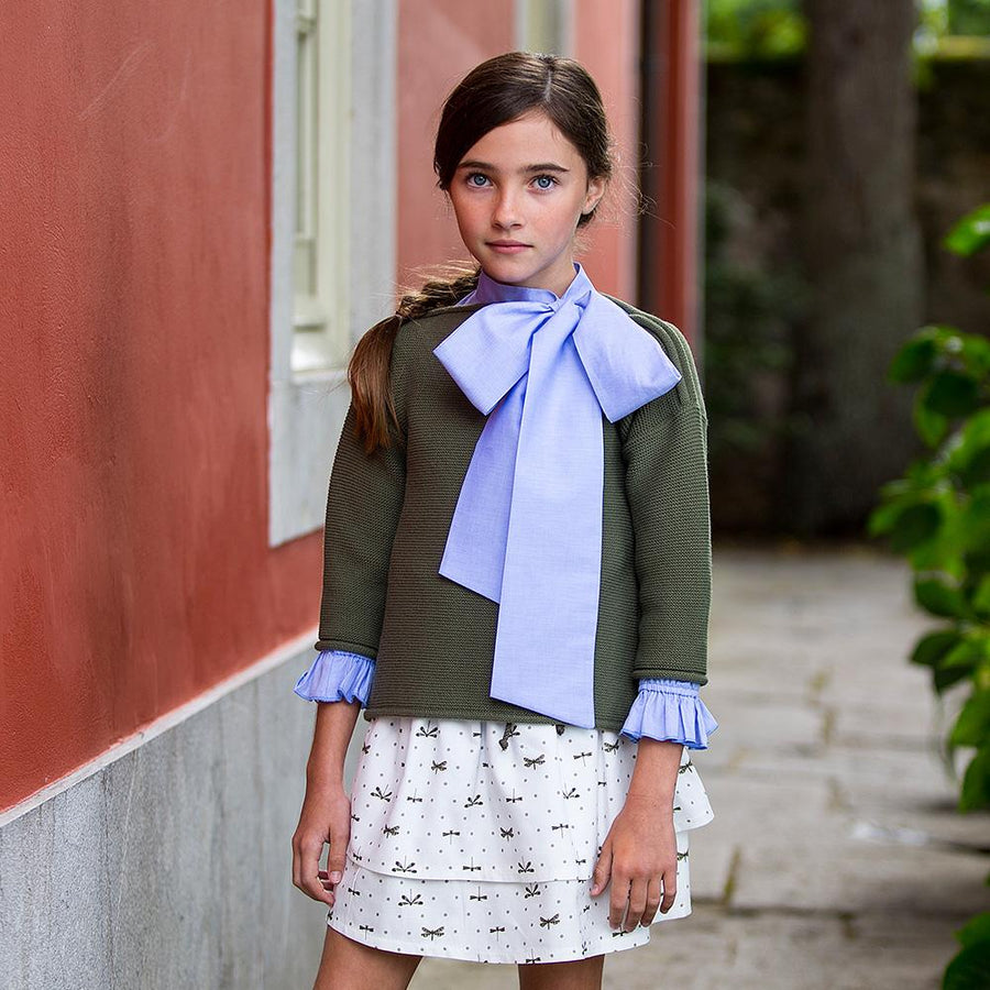 Dragonfly Girl Knitted Jumper - orkids boutique