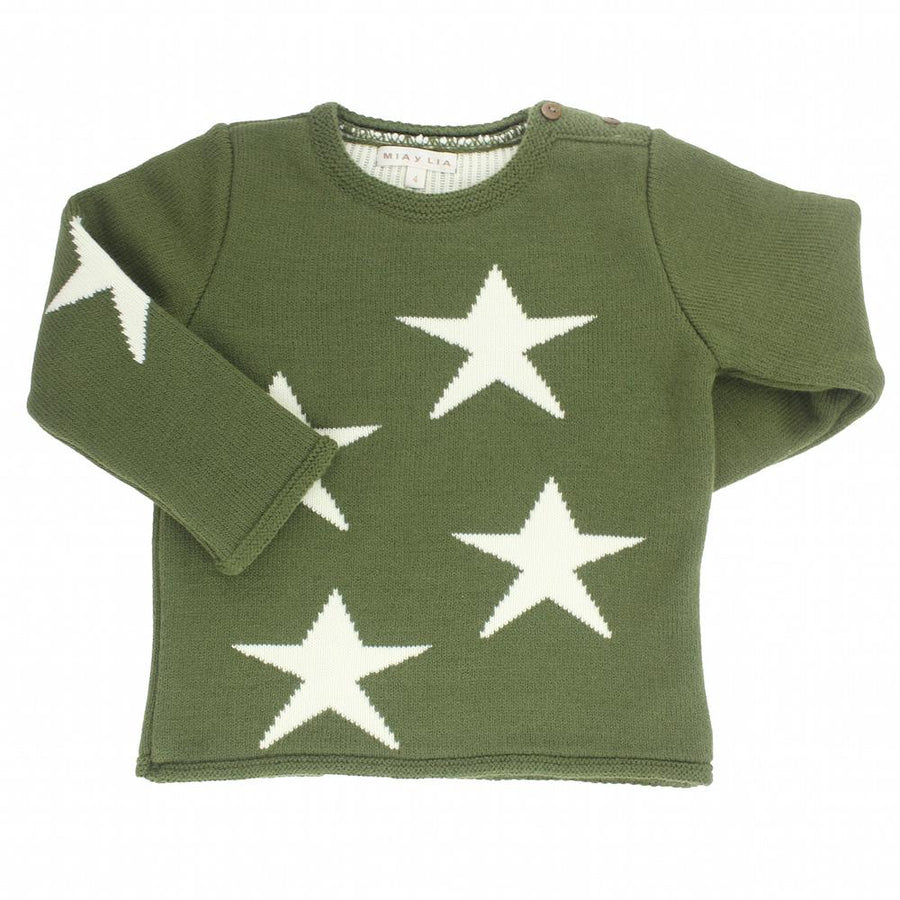 Unisex Green knitted jumper - orkids boutique