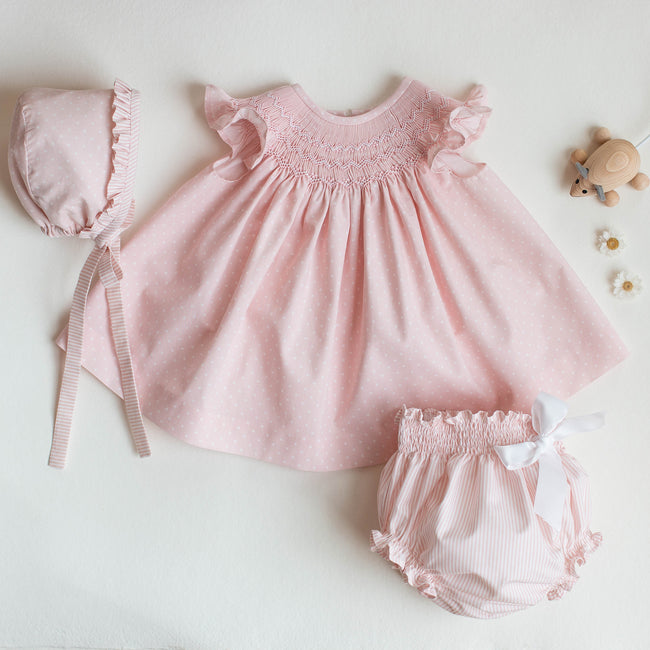 Laia Baby Dress set - orkids boutique