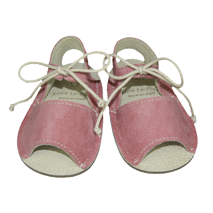 Laced Menorquina Pink Shoes - orkids boutique
