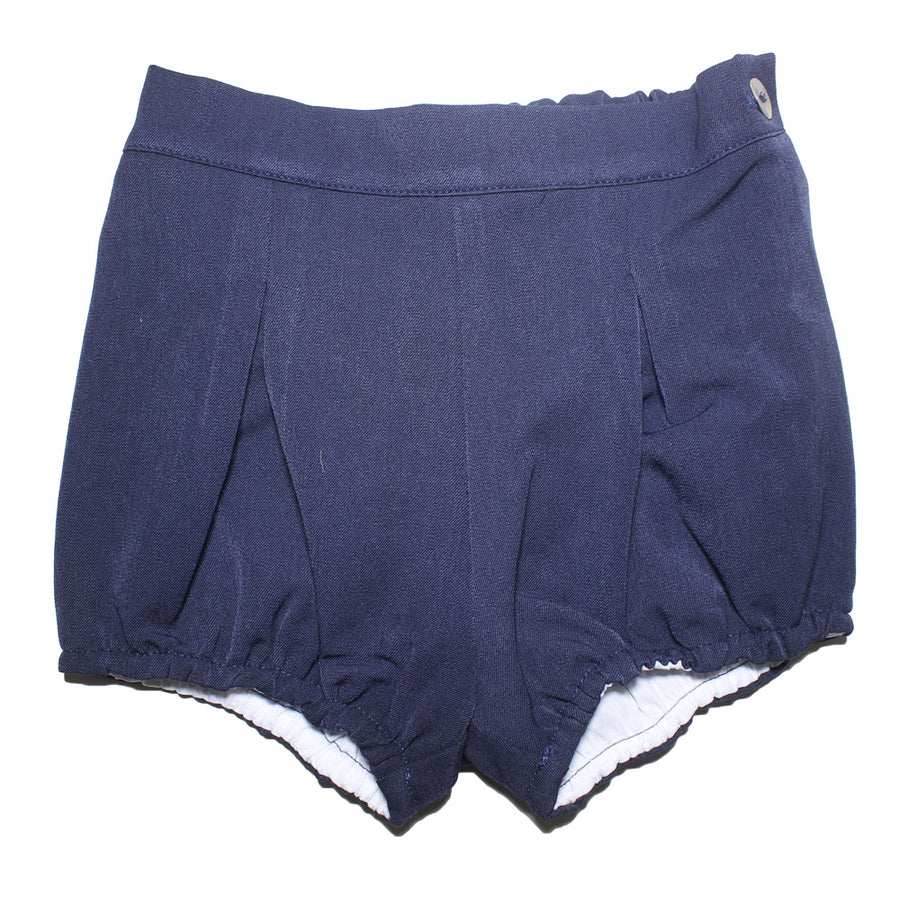 Baby boy Navy Shorts - orkids boutique