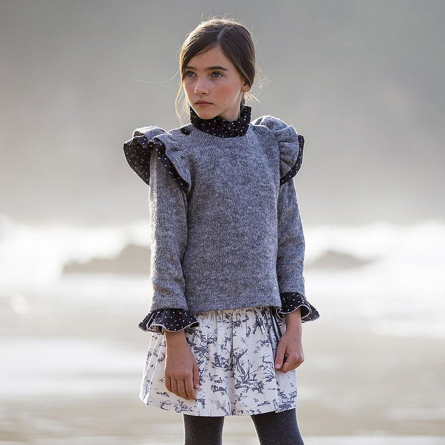Toile Girls Knitted Jumper - orkids boutique