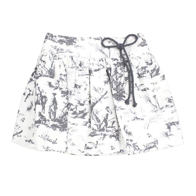 Toile Girls Skirt - orkids boutique