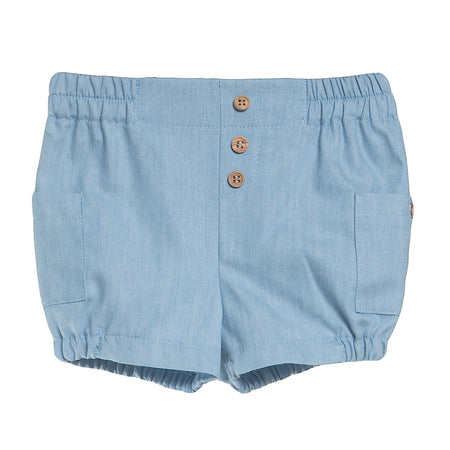 Denim Bermuda Shorts - orkids boutique