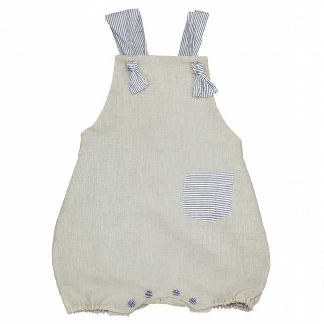 Boy striped dungaree - orkids boutique