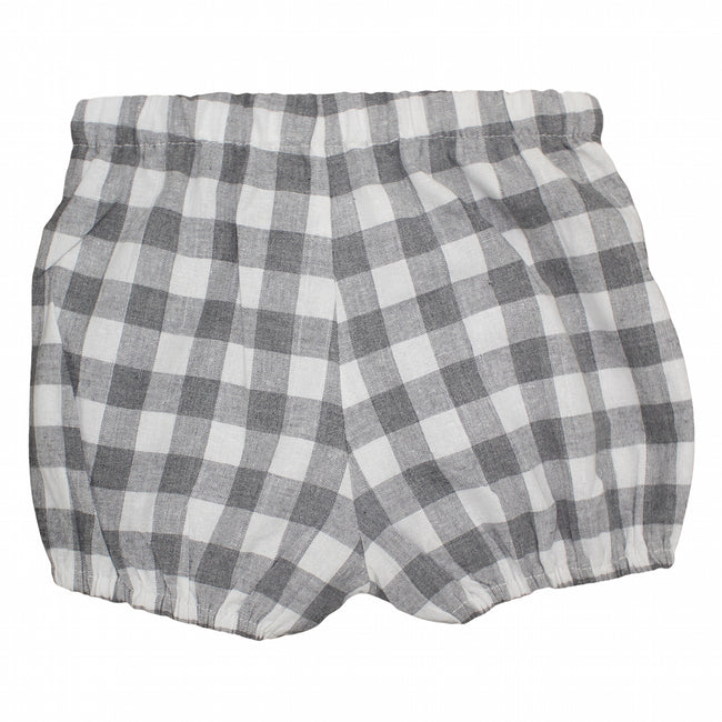 Boys gingham Shorts - orkids boutique