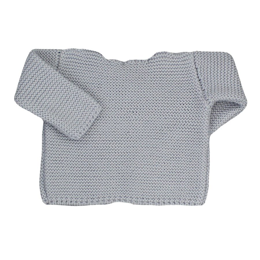 Grey Knitted Cardigan - orkids boutique
