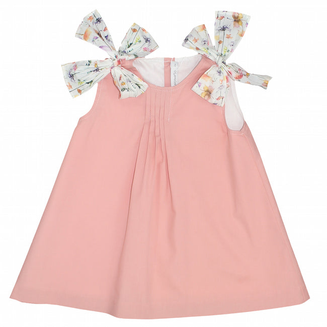 Girls floral cotton dress - orkids boutique