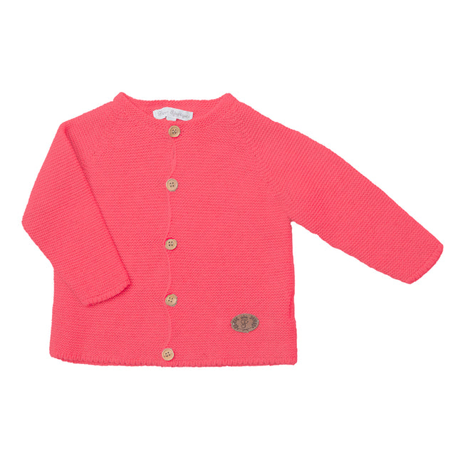 Coral knitted cardigan - orkids boutique