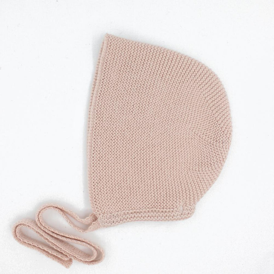 Girl knitted bonnet - orkids boutique