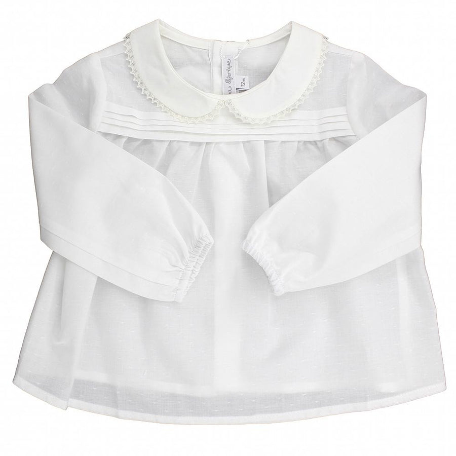 Baby girl classic blouse - orkids boutique