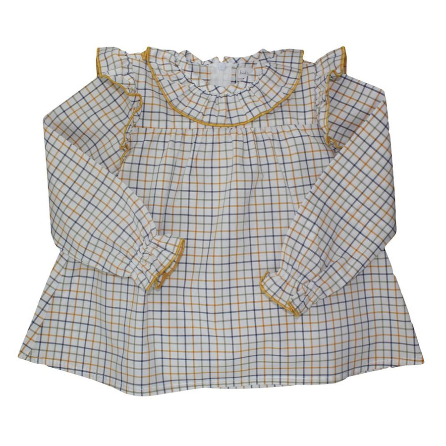 Girl Ruffle Blouse - orkids boutique