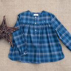 Boy Blue Tartan shirt - orkids boutique