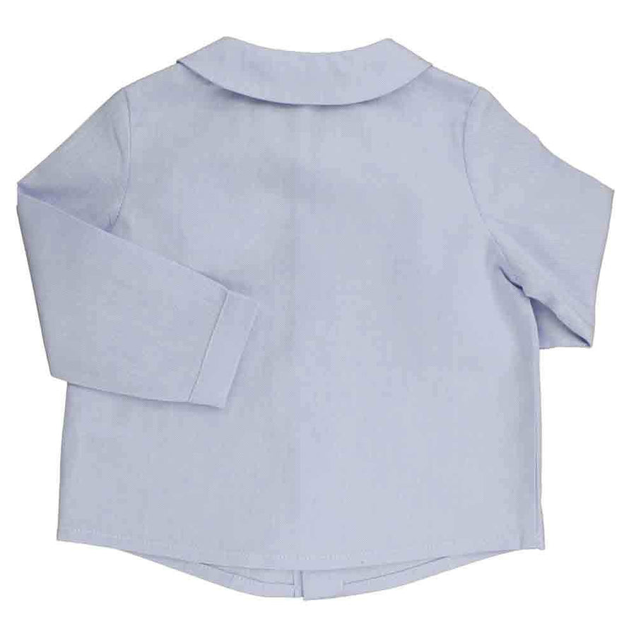 Light blue cotton shirt - orkids boutique